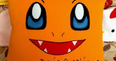 Cuscino Pokemon Charmander